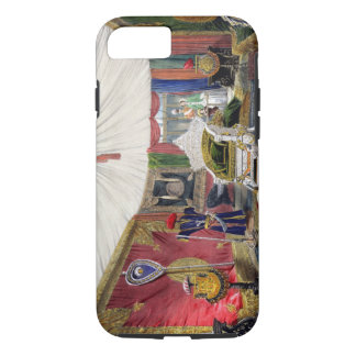 View of the tented room and ivory carved throne, i iPhone 7 case