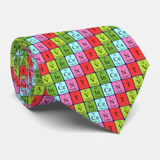 Vincent periodic table name tie