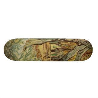 Vincent Van Gogh -  Landscape Trees Skate Boards