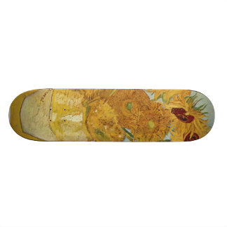 Vincent Van Gogh -  Sunflowers Skate Deck