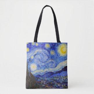 "Vincent Willem van Gogh, ""Starry Night"" Tote Bag"