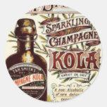 Vintage Advert #1 Round Sticker