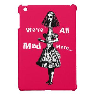 Vintage Alice Stretched in Wonderland iPad Mini Cases