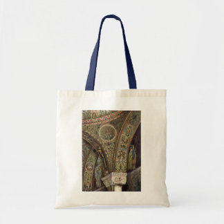Vintage Architecture, Decorative Arch in a Church Budget Tote Bag