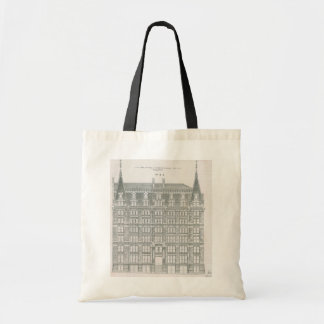 Vintage Architecture, Delaware & Hudson Canal Co. Budget Tote Bag