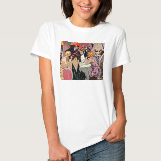 Vintage Art Deco Nightclub Cocktail Party T Shirt
