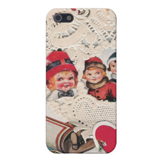 Vintage Art of Cherub and Kids iPhone 5 Cover