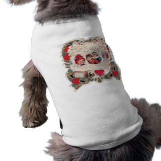 Vintage Art of Children Sleeveless Dog Shirt