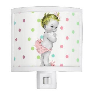 Vintage Baby Girl Little Princess Night light