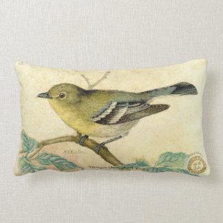 Vintage Bird Image Pillow Throw Cushions