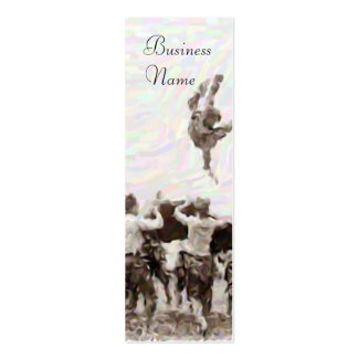 Vintage Boy Scouts Toss Bookmark Business Cards