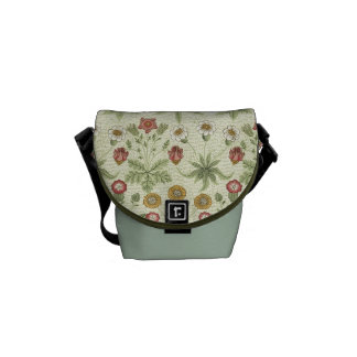 Vintage Country Floral Pattern Messenger Bag
