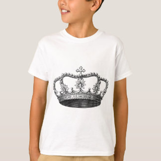 Vintage Crown Black and White T-shirt