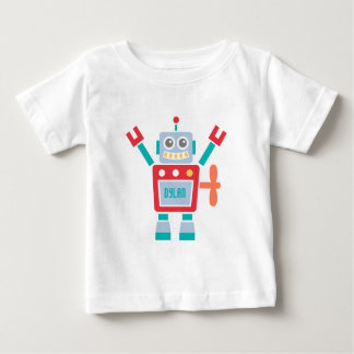 Vintage Cute Robot Toy For Baby Boys Shirt