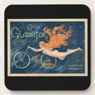 Vintage Cycle Advertisement Coaster
