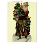 Vintage Father Christmas Card
