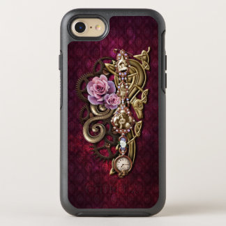 Vintage Girly Jeweled Steampunk OtterBox Symmetry iPhone 7 Case