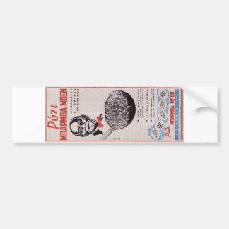 Vintage Greek Advertisement Uncle Ben Rice Old ad Bumper Sticker