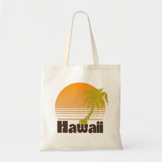 Vintage Hawaii Budget Tote Bag