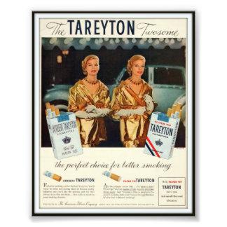 Vintage Herbert Tareyton Advertising 1955 Photograph