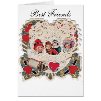 Vintage Illustrated Picture Greeting Card
