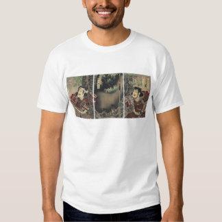 Vintage Japanese samurai T Shirts