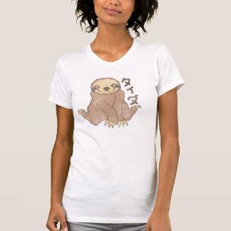 Vintage Kawaii Sloth Tee Shirt