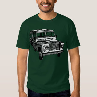 Vintage Land Rover illustration T-shirt