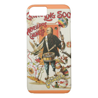 Vintage Magic Poster, Magician Chung Ling Soo iPhone 7 Case