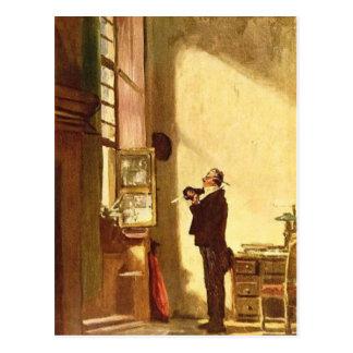 Vintage- Motive  The Clerk Postcard