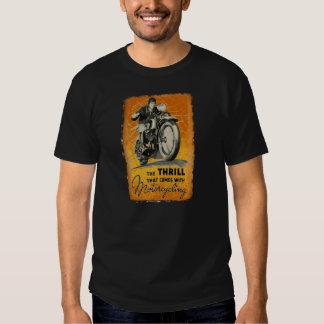 Vintage Motorcycling Tee Shirt