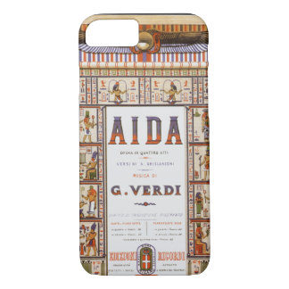 Vintage Opera Music, Egyptian Aida by Verdi iPhone 7 Case