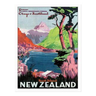 Vintage Otago New Zealand Postcard