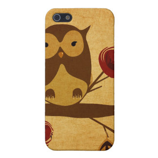 Vintage owl Speck Case iPhone 5 Cover