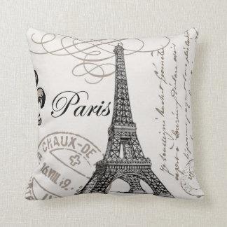 Vintage Paris...pillow Cushions