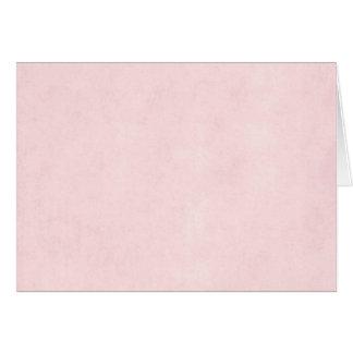 Vintage Pink Rose Parchment Old Paper Background Greeting Card