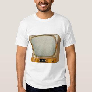 Vintage Retro Kitsch TV Television Set Tshirt