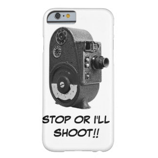Vintage Roll Film Movie Camera Barely There iPhone 6 Case