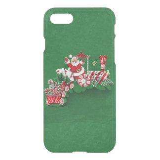 Vintage Santa Claus Peppermint Candy Train iPhone 7 Case