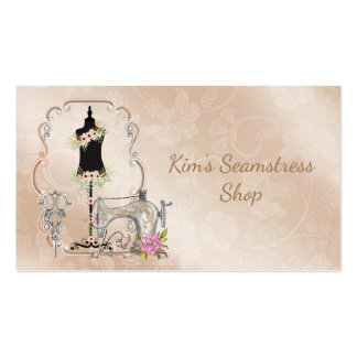Vintage Seamstress Business Card