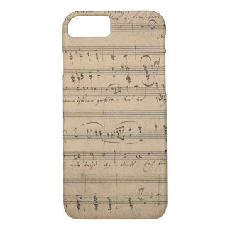 Vintage Sheet Music, Song of the Old Man, 1822 iPhone 7 Case