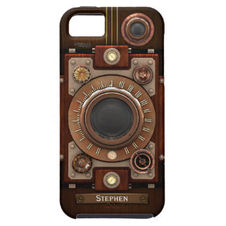 Vintage Steampunk Camera #1C iPhone 5 Cases