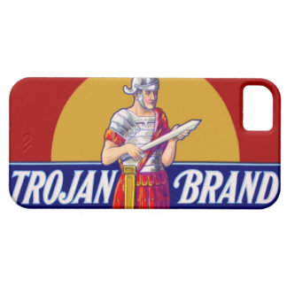 Vintage Trojan Brand Bachelor Party Gag Gift iPhone 5 Case