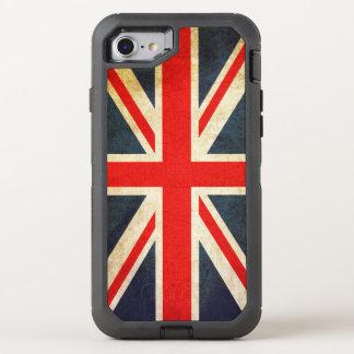 Vintage Union Jack British Flag OtterBox Defender iPhone 7 Case