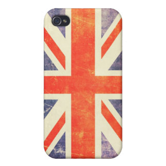 Vintage Union Jack flag Covers For iPhone 4