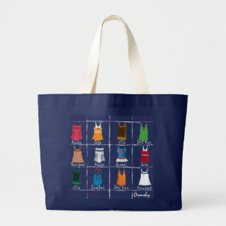 vintage-vacation- jumbo tote bag