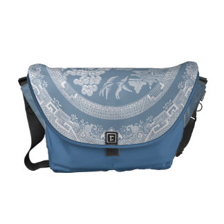 Vintage Willow Pattern Courier Bags