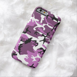 Violet Camo Barely There iPhone 6 Case