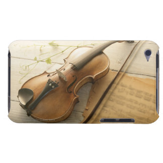 Violin and Sheet Music iPod Touch Cases