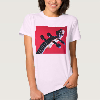 Violin or Viola Scroll Picture Shirt